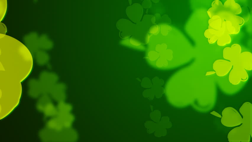Loopable clover  spring background.