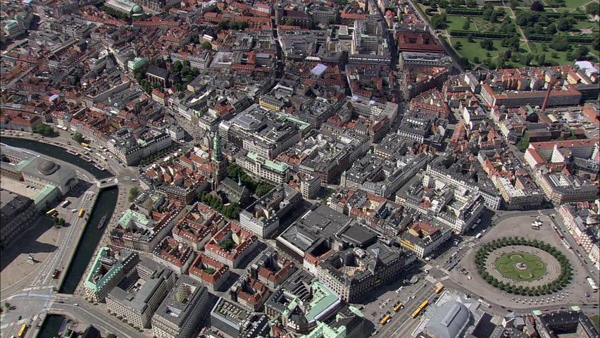 AERIAL Denmark-Copenhagen - Round Tower 2007 #10060658