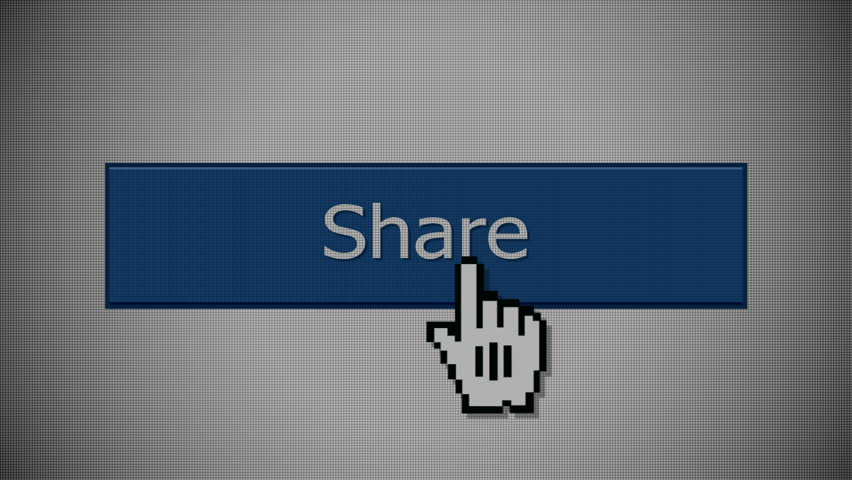 "A ""share"" social media button animation with optional luma matte. 
