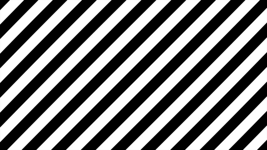 Abstract CGI motion graphics and animated background with moving black and white angle. Hypnotic rhythmic movement of geometric black and white shapes
