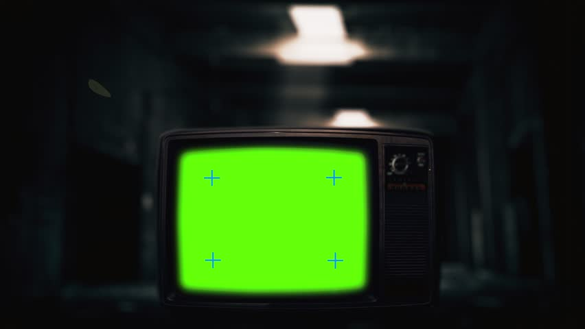Old Television Green Screen Zoom Stock Footage Video (100% Royalty-free)  1006771348 | Shutterstock
