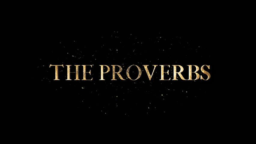 Header of Proverbs