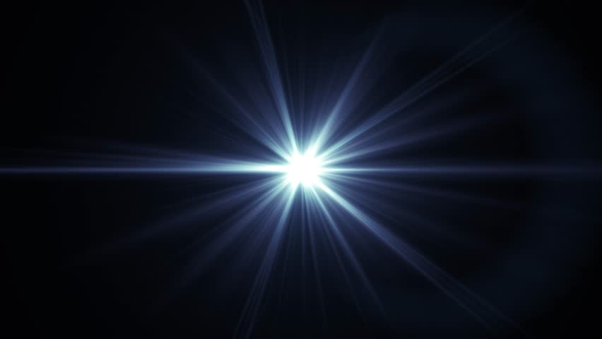 center flickering star sun lights optical lens flares shiny animation art background loop new quality natural lighting lamp rays effect dynamic colorful bright video footage