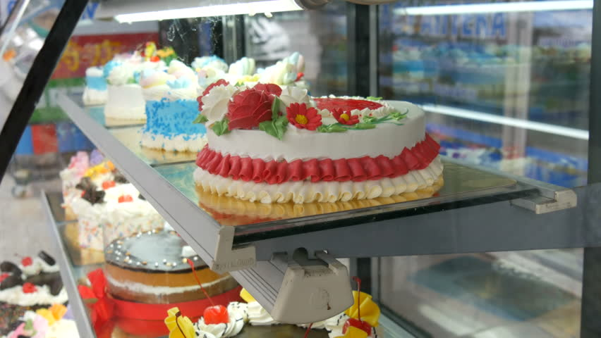 Tasty Beautiful Colorful Cakes On Stock Footage Video 100 Royalty Free 1007495248 Shutterstock