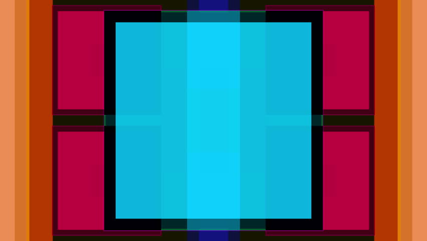 crossing square pattern