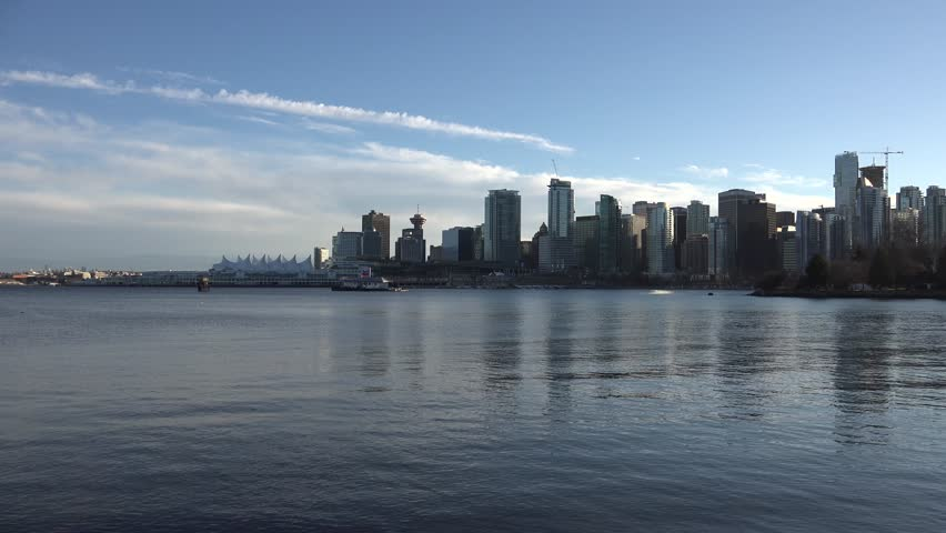 Vancouver city - sunshine daytime | Shutterstock HD Video #10077824