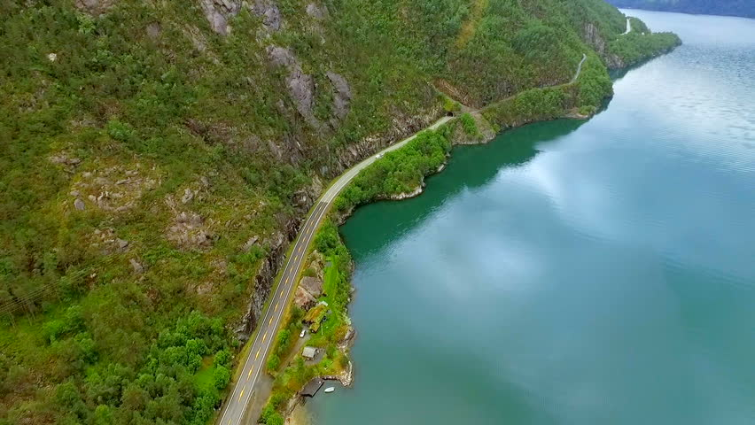 Norway. beautiful landscape of Norway | Shutterstock HD Video #1007808628