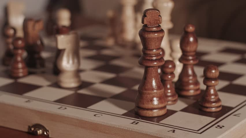 Queen gives checkmate on D8
