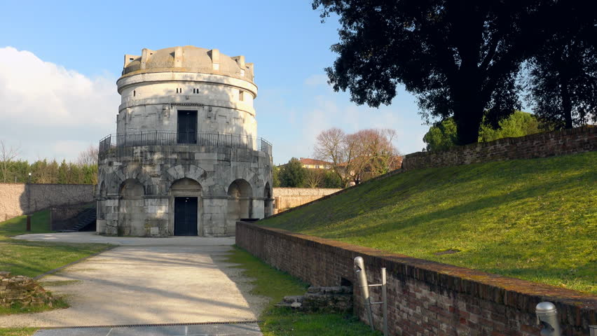 The Mausoleum of Theoderic in Ravenna, Italy