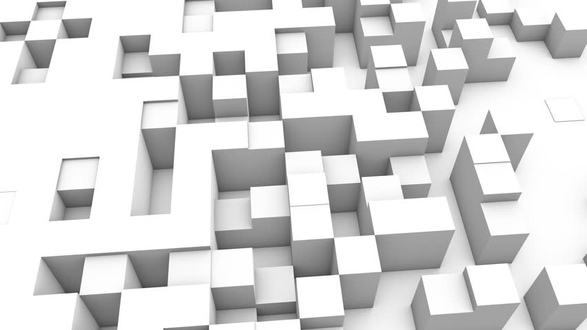 Abstract cubes background transition, 3d Animation 4k | Shutterstock HD Video #1007986438