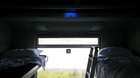 bunk in the train