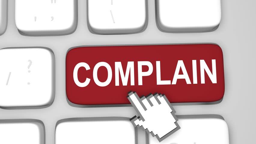 Header of complain
