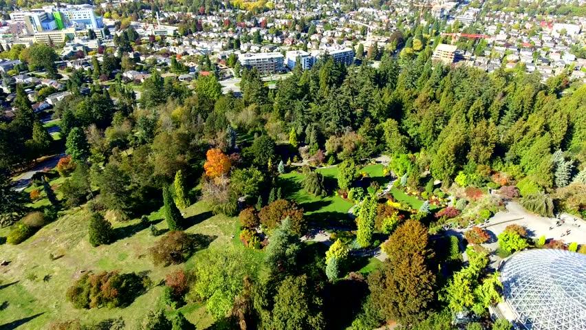 Queen Elizabeth Park Summer Vancouver BC Canada