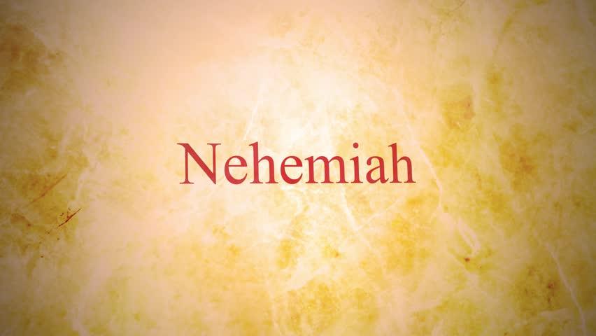 Header of Nehemiah