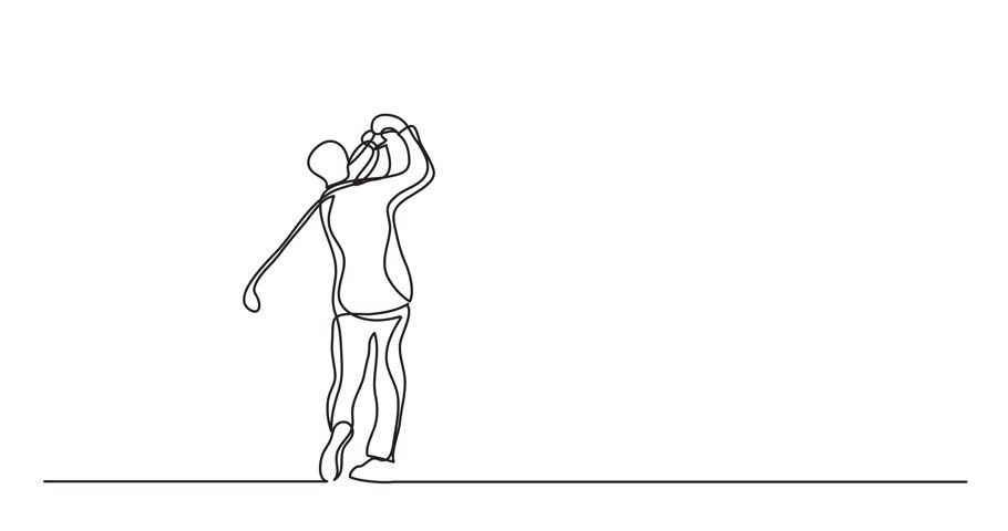 Header of line drawing