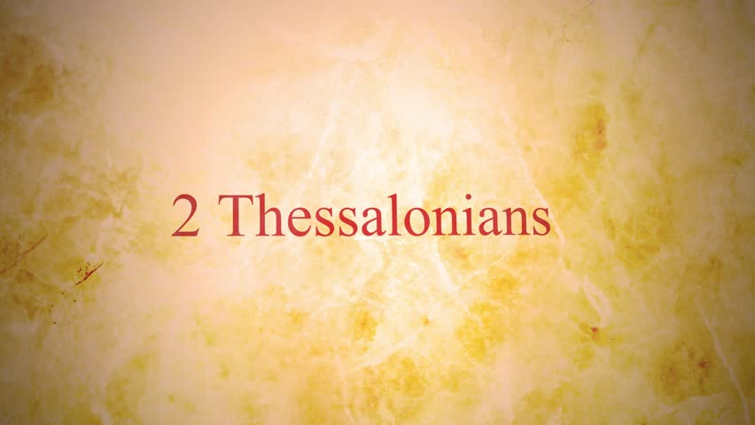 Header of 2 Thessalonians