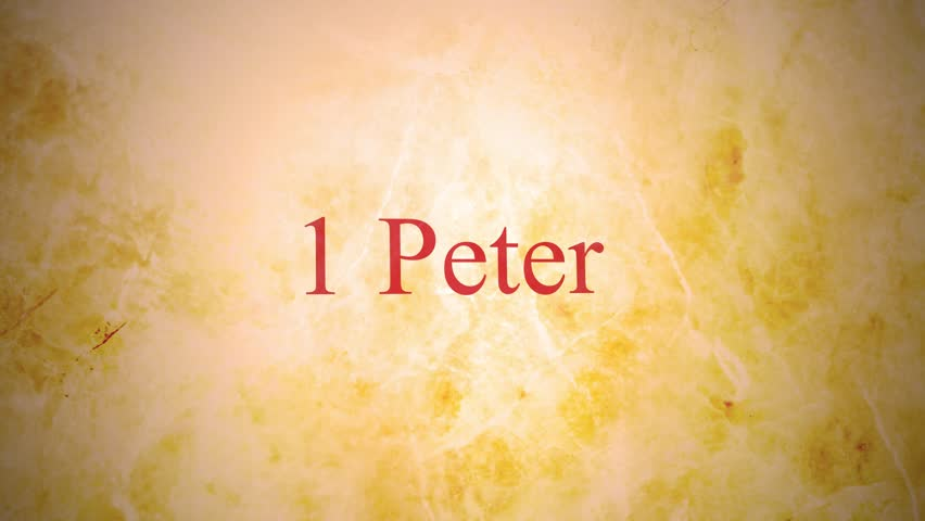 Header of 1 Peter