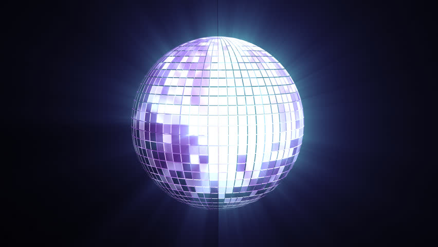 Glowing Disco Ball. Looped. Alpha channel included. | Shutterstock HD Video #1008630958