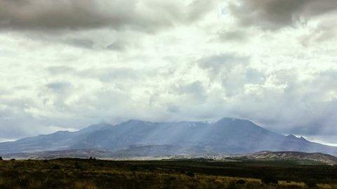 Storm Clouds Over Mt Ruapehu
