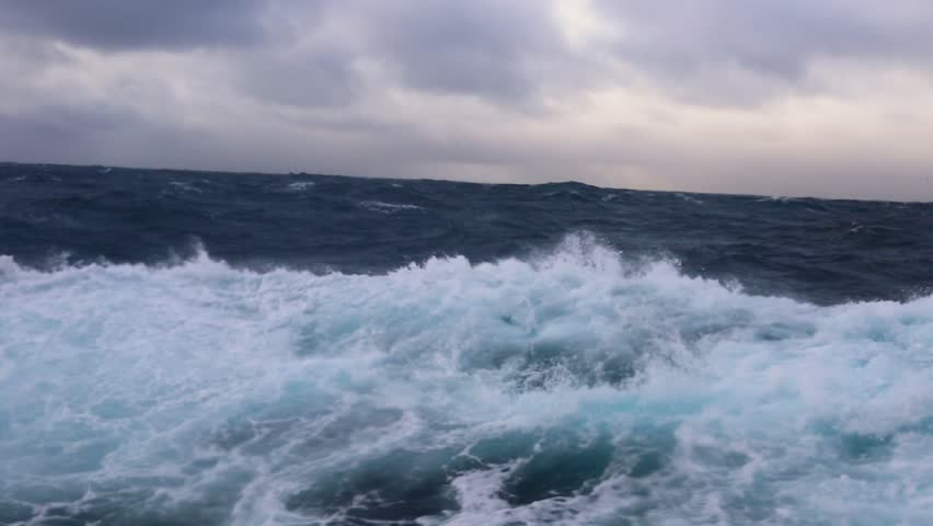 Storm in Drake passage | Shutterstock HD Video #1008908708
