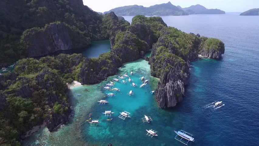 Small Lagoon El Nido Palawan Stockvideos Filmmaterial 100 Lizenzfrei 1009367468 Shutterstock