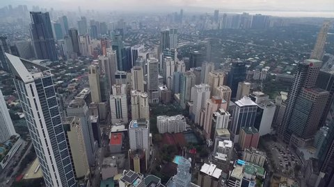 City of Makati in Manila, Philippines. It is one of the sixteen cities that make up Metro Manila. Makati is the business and financial center of metro Manila