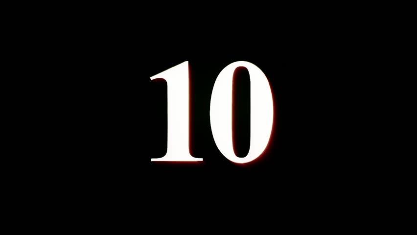 Countdown - Blinking | Shutterstock HD Video #1009466978