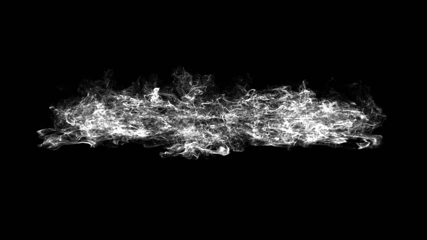 3D smoke explosion shockwave effect and divergent wave isolated on black background. abstract smoke explosion animation. Top camera view from above #1009516028