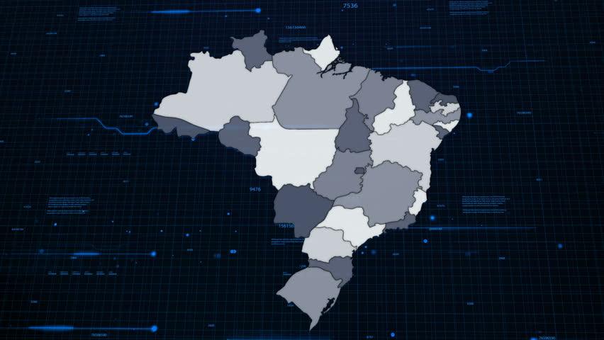 Brazil Network Map