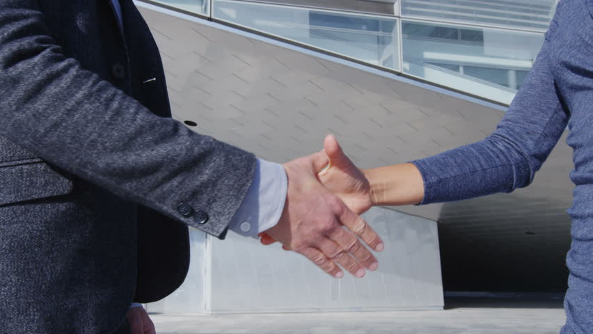 Handshake - Business People Shaking Stock Footage Video ...