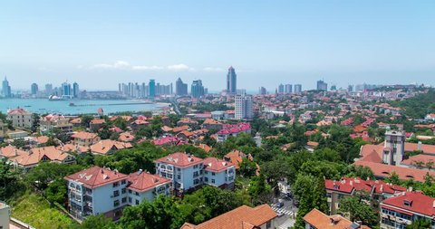 Qingdao old town timelapse