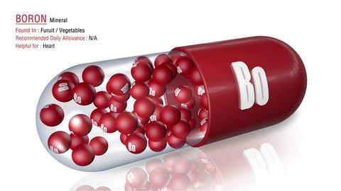 Boron  - Animated Mineral Capsule Concept