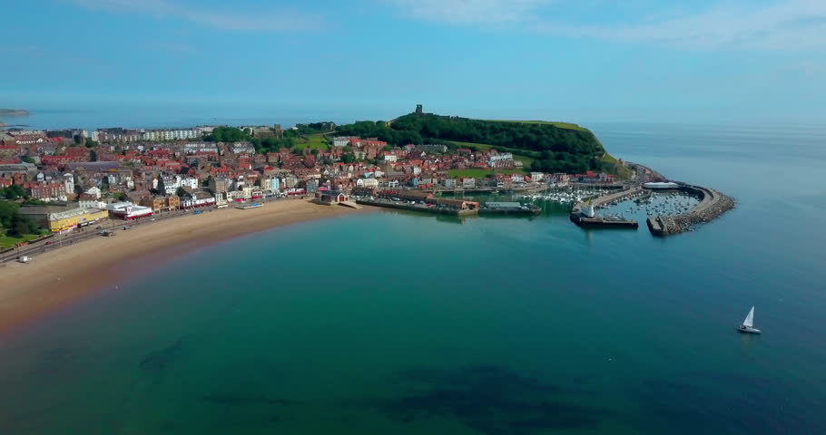 Scarborough South Bay And Castle; Scarborough North Yorkshire