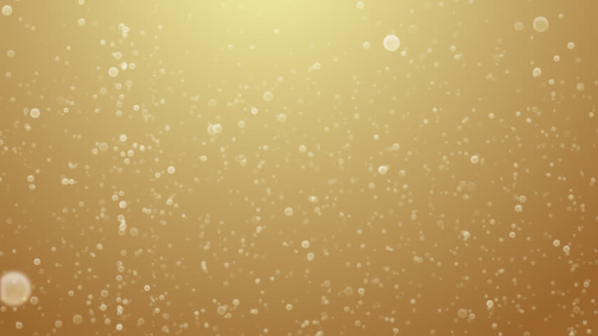 Champagne bubbles rising (Loop).