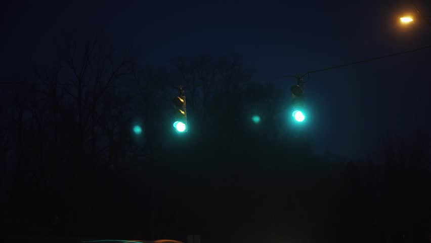 Street Lights Time Lapse | Shutterstock HD Video #1010584208