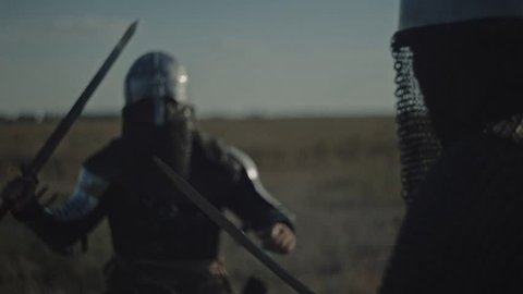 Historical battle in the armor