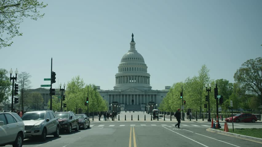 United States Capitol Building | Shutterstock HD Video #1010805848