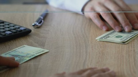 Dollars For Anese Stock Footage