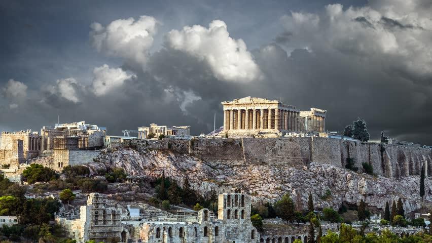 Parthenon Acropolis of Athens, Greece