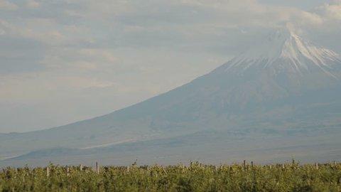 Ararat Mountain near Khor virap monastery - Armenia