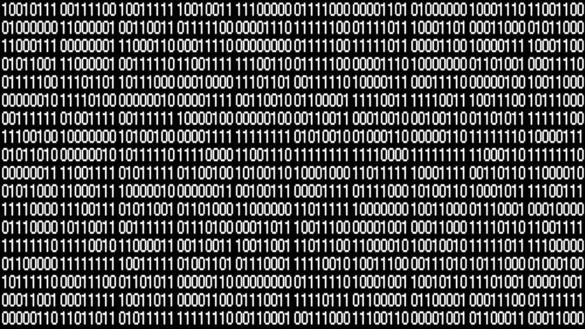 The Matrix style binary code.Seamless loop.data digital display,future tech background.4k  | Shutterstock HD Video #1011649478