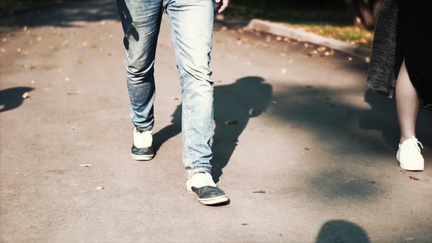 Man Walking on the street | Shutterstock HD Video #1011666398