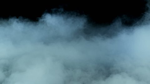 Smoke on a black background - realistic overlay for different projects (Red Epic Shoot)