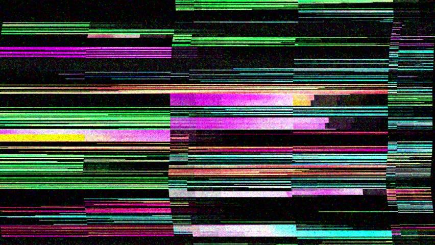 tv glitch loop #1012321298