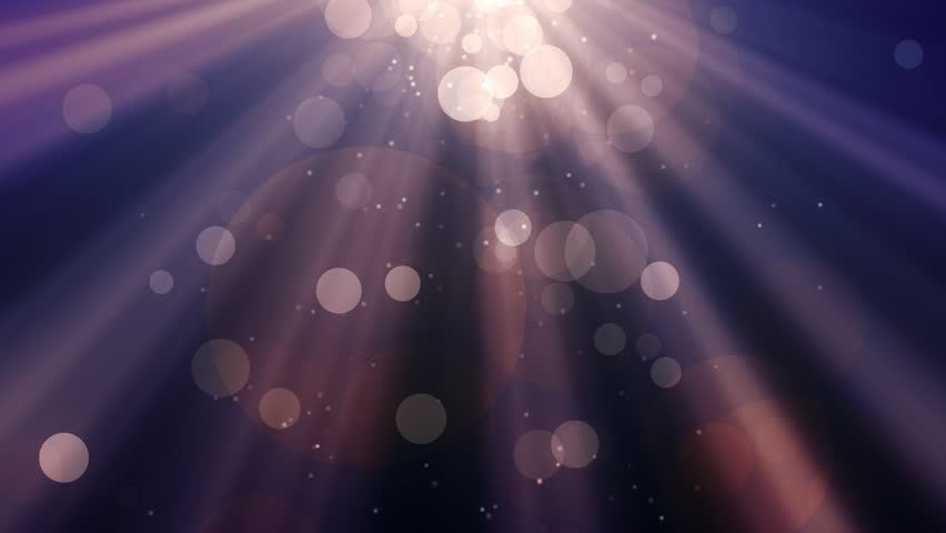Abstract bokeh Particles with shining light rays background animation suited for broadcast, commercials and presentations. | Shutterstock HD Video #1012517258