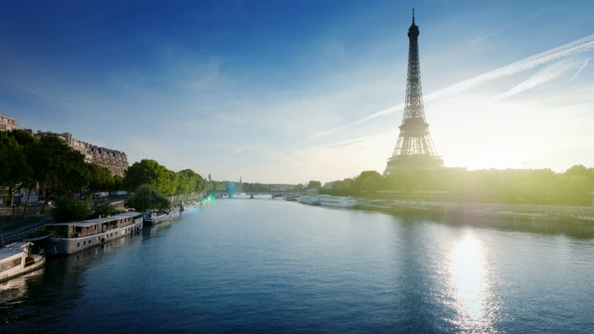 Eiffel tower, Paris. France | Shutterstock HD Video #1012607978