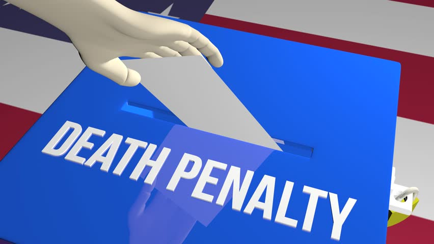 Vote on Death Penalty ballot concept animation