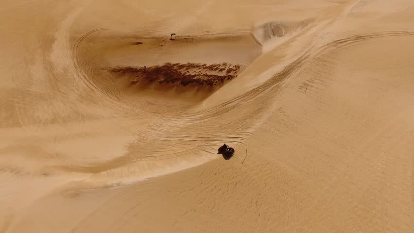 Aerial View of Dune Buggy Stock Footage Video (100% Royalty-free)  1012652828 | Shutterstock