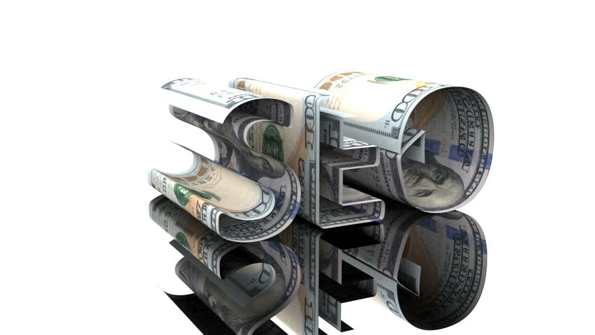 The word SEO consisting of US dollars, the concept of profit dependence on SEO technologies hromakey