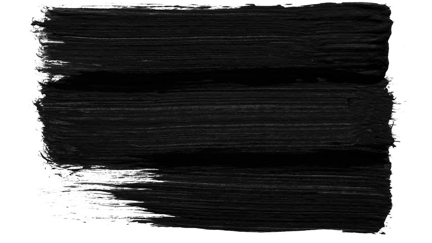 Brush stroke black and white transition background. Animation of paint splash. Abstract background for ad and presentations | Shutterstock HD Video #1013203058